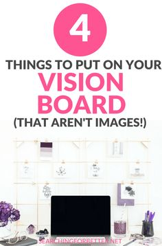 4 Things To Put On Your Vision Board (That Aren't Pictures! Loved these my vision board! It helped me create some serious Number 2 is a great DIY trick to help your true! Meditation, Goal Board, Creating A Vision Board, Natural Cold Remedies, Herbal Remedies, Picture Search, Dream Life, Law Of Attraction, Number 2