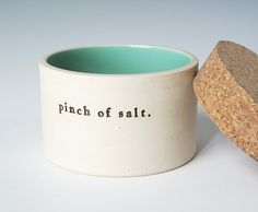 salt jar ... i would love this ... reminds me of giada