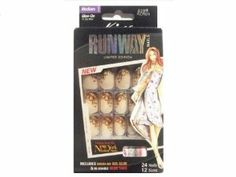 (2 Pack) Kiss Runway Nails Limited Edition Nail Kit Medium Glue on # 52911 KOR01 by Kiss. $5.99. Limited Edition.. 24 nails in 12 sizes.. Designs from the New York fashion show.. Medium Length.. Comes with pink gel glue 2 ml and manicure stick.. Hard to find item!. Save 25%!
