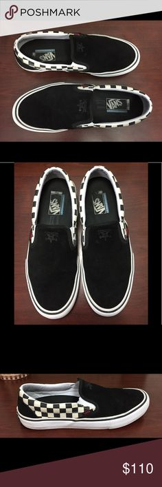 841a07b5f09b I just added this listing on Poshmark  Rare Vans x Thrasher slip on Collab.