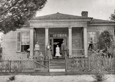 Unknown Greek Revival House, --somewhere in the deep South(Probably Alabama, Georgia, or Mississippi) -- Photograph taken in the Southern Mansions, Southern Plantations, Revival Architecture, Architecture Details, Southern Architecture, Classic Architecture, Beautiful Architecture, Abandoned Buildings, Abandoned Places