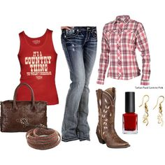 """""""It's A Country Thing"""" by njdellis on Polyvore"""