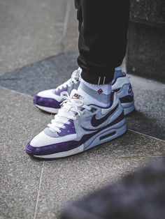 size? x Nike Air Max Light Easter Pack - Purple - 2013 (by one_man_army.07)
