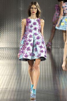 Mary Katrantzou - London Fashion Week SS14