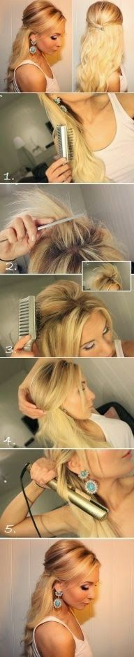 Digg Women's Fashion: Different hair style with electric comb