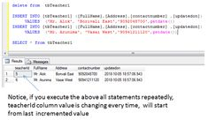 sql delete statement example Sql Tutorial, Sql Server, Messages, Writing, Text Posts, Being A Writer, Text Conversations