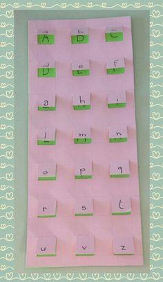 Il palazzo delle lettere, per l'apprendimento dello stampato minuscolo