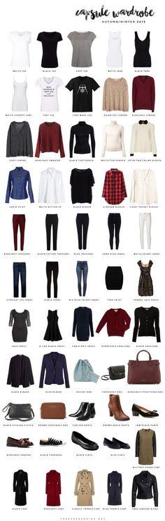 The Paper and Ink: capsule wardrobe #capsulewardrobe #wardrobebasics2017
