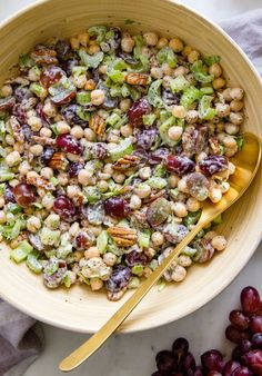SONOMA CHICKPEA SALAD #healthy #vegan #recipe
