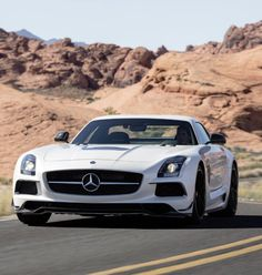 This Sexy Mercedes SLS Black Series is strong contender for 'car of 2013'! Hit the pic to see if it wins!