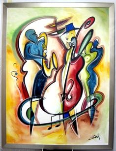 Alfred Gockel - Blues for My Baby - original oil on canvas painting - Available at Paragon Fine Art - www.paragonfineart.com