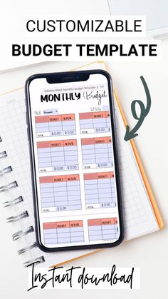 If you're looking for a mobile friendly, digital budget template, this monthly budget template allows you to save time and money by budgeting right from your phone or computer! This is an editable PDF, so type directly into the template! Start saving money and actually having some left over at the end of the month. Break the paycheck to paycheck cycle with a monthly budget! #budgeting #personalfinance #mobilebudget #digitalbudget #budgettemplate #editablepdf Saving Tips, Saving Money, Monthly Budget Template, Budget Organization, Budgeting Worksheets, Student Loan Debt, Budget Planner, Finance Tips, Money Management