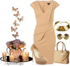 """Olivia Pope Style"" by arjanadesign ❤ liked on Polyvore"