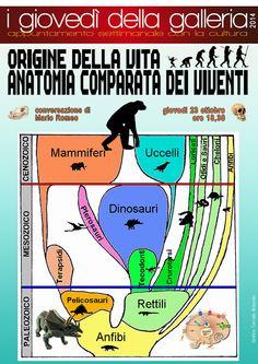 ORIGINE DELLA VITA  ANATOMIA COMPARATA DEI VIVENTI Conversazione di Mario Romeo  Giovedì 23 ottobre ore 18,30