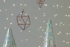 Geo Wire Ornament - modern christmas ornaments (via AccentDecor.com) & 41 best MODERN HOLIDAY DECOR images on Pinterest | Christmas crafts ...