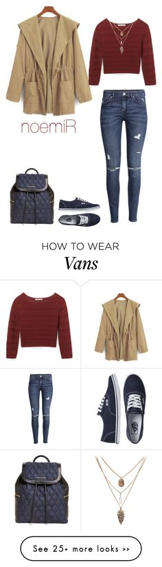 """""""Untitled #213"""" by noemireale on Polyvore featuring H&M, Rebecca Minkoff, Vans and Vera Bradley"""