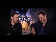 James McAvoy & Michael Fassbender & Dinklage?! - Xmen DoFP Belgium Interview... THIS IS THE ACTUAL BEST THOUGH