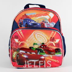 "Jelfis.com - Disney Cars Red Orange Boys 10"" Mini Backpack for Small Toddler Babies, $13.99 (http://www.jelfis.com/disney-cars-red-orange-boys-10-mini-backpack-for-small-toddler-babies/)"