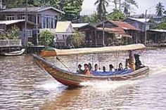 Klongs (canals), Bangkok, Thiland - The Man With The Golden Gun