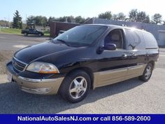 Model: 2000 Ford Windstar Wagon   Price: $4,995   COLOR    Black / Harvest Gold Meta /Medium Parchment    MILES    130,259    Engine    3.8L Engine    Trans    4-Speed A/T    Stock #    S004549    VIN    2FMDA5349YBA34549        If Interested call National Auto Sales today (856) 589-2600 Ask for Bill