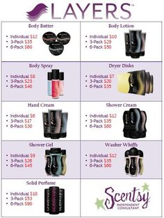 Contact me to order, or book your show, or even better, join my team!! Lynsey Hust www.lynseyhust.scentsy.us 7015001067