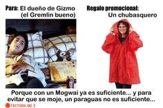 ¿Qué le regalarías al dueño de Gizmo, el Gremlin bueno?