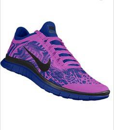 best sneakers 414ad a4e3f Nike Free Run customized (freak pattern)