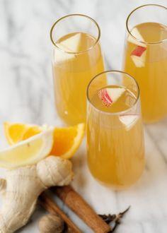 Cocktail Hour: The Apple Cider Whiskey Sparkler - The Bride's Guide : Martha Stewart Weddings