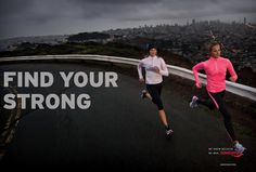 If It's Hip, It's Here: Saucony Asks You To Find Your Strong In A New TV Spot And Ad Campaign.