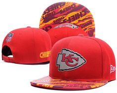 4c55ff71ac8 Kansas City Chiefs 2016 NFL On Field Color Rush Snapback Hats Leather  Brim