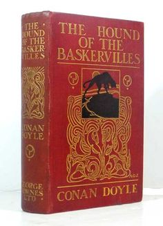 Sherlock Holmes Leather Bound Books | The Hound of The Baskervilles. Another Adventure of Sherlock Holmes.