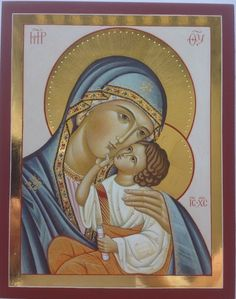 Religious Images, Religious Icons, Religious Art, I Love You Mother, Icon 5, Queen Of Heaven, Byzantine Icons, Holy Mary, Art Thou