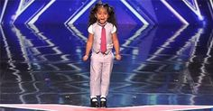 This Little 5-Year-Old Melts The Judges Hearts With Her Voice, But Keep Your Eyes On Her Feet! | Diply