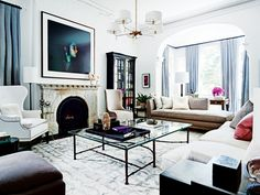 The perfect mix of classic, elevated and somewhat approachable. #interiors