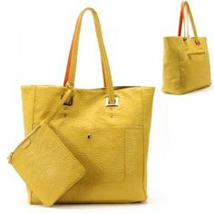 Golden Hardware / Coin Purse Purse and Bag / Handbag / Yellow / Rcht0739yew,$41.99    No Longer Available   