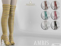 Sims 4 CC's - The Best: Madlen Ambis Shoes by MJ95