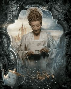 """Emma Thompson as Mrs. Potts   Here's Our First Look At The Truly Magical """"Beauty And The Beast"""" Character Posters"""