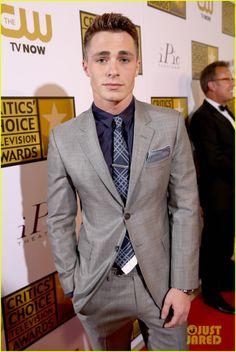 Colton Haynes  at Critics' Choice TV Awards 2014!