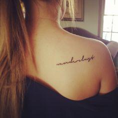 wanderlust tattoo-the desire to travel the world