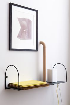 Baskets On Wall, Architectural Digest, Elle Decor, Floating Nightstand, Floor Lamp, Candle Holders, Bows, Shelves, Colours
