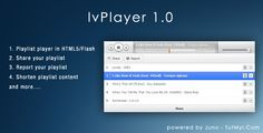 lvPlayer - Premium Audio Playlist by This playlist player is supported by all major browsers (Firefox, Chrome, Safari, Opera etc.) and mobile devices like iPho Website Template, Social Networks, Web Design, Audio, Things To Come, Coding, Templates, Scripts, Ecommerce