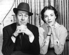 Julie Andrews and Rex Harrison, during rehearsals for My Fair Lady. 1956.