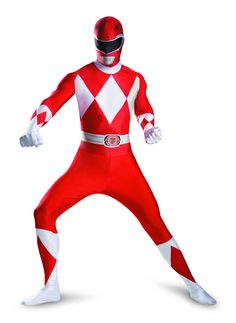 Get the best Power Rangers red costume here!