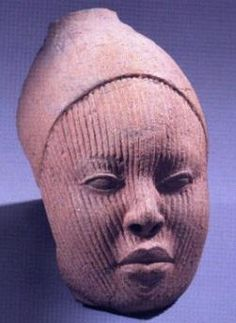 Terrcotta mask - Benin Kingdom dynasty, believed to have been founded in the 13th century (modern Nigeria).