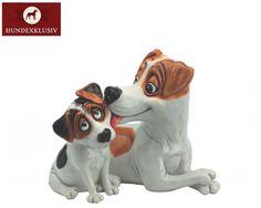 """Hundefigur Jack Russell mit Welpe  Ein entzückendes Design aus der Serie """"Pets with Personality"""" - Hundefigur Jack Russell mit Welpe. Ob als Geschenkidee oder für die Deko auf dem eigenen Sideboard, die Hundefiguren aus dem Hause Arora Design betören einfach."""
