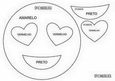 Coisinhas da Renata: Emojis em Feltro...