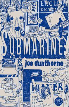 Submarine by Joe Dunthorne – cover illustration by Nina Chakrabarti