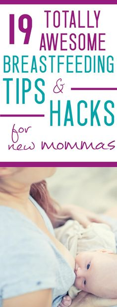 New to breastfeeding? It's HARD at first! Don't miss these best breastfeeding tips for new moms!