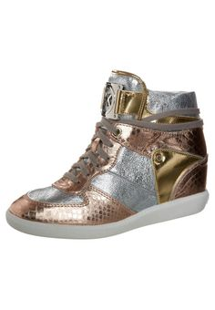 d23bf15eb48e MICHAEL Michael Kors NIKKO HIGH TOP Sneakers hoog goudkleurig