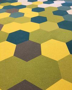 Image Result For Hexagon Carpet Tiles